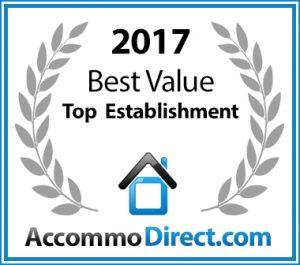 Best Establishment 2017 Award!